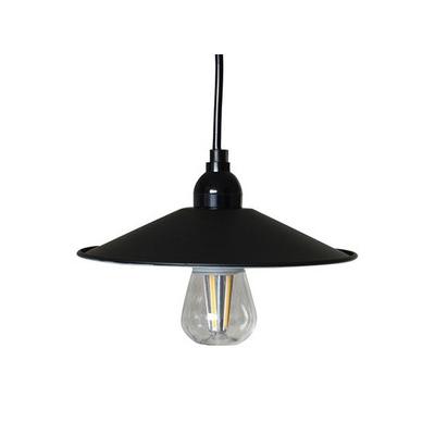 LEDペンダントライト マットブラックSサイズ(電球あり) P-220BK