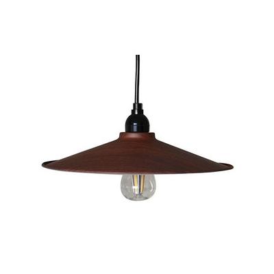 LEDペンダントライト ウッドMサイズ(電球あり) P-300BR